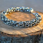 Diesel Men's Sterling Chainmaille Bracelet