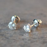 5mm Moissanite Stud Earrings