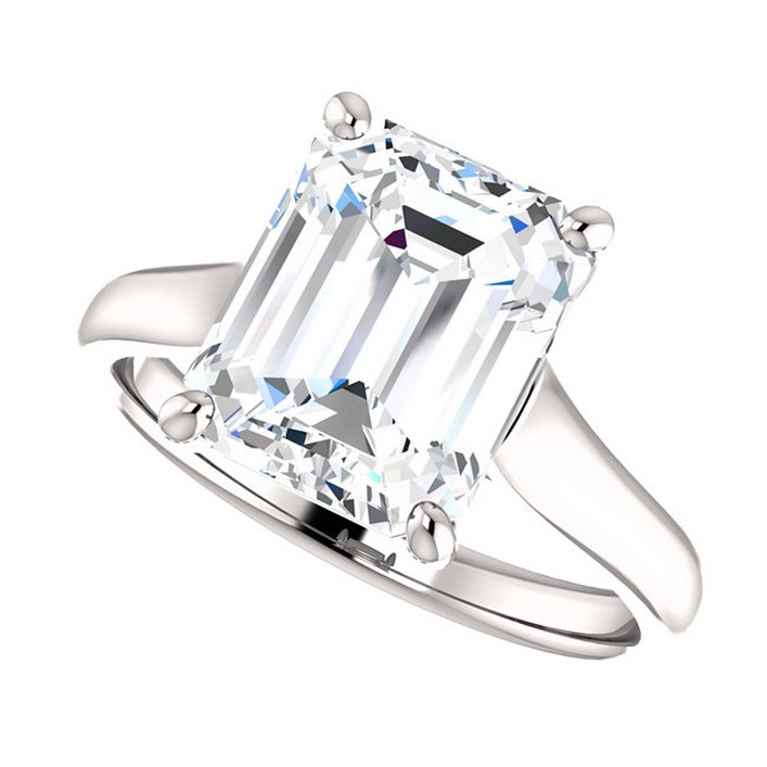 3 5 Carat Forever Brilliant Moissanite Engagement Ring