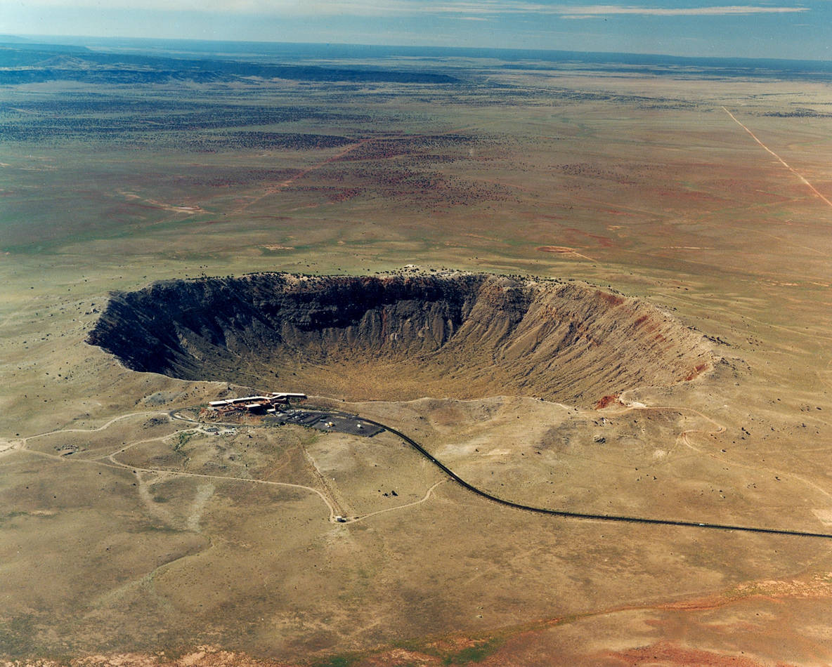 Meteor Crater, Arizona - Where moissanite was discovered