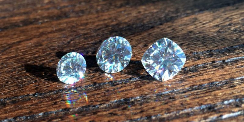 NEO Moissanite in the Sun