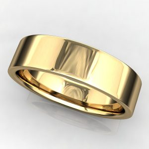 5x1-5mm parker band yellow gold