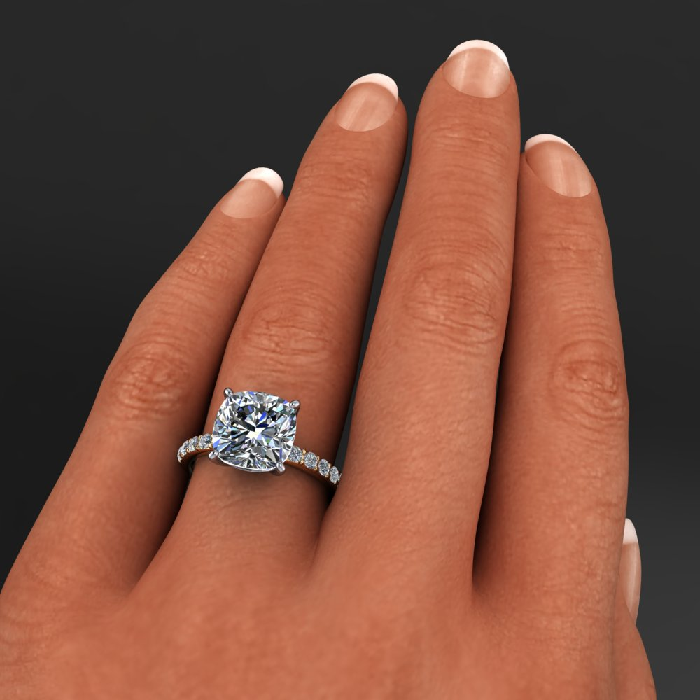 4.2 Carat Cushion Cut NEO Moissanite And