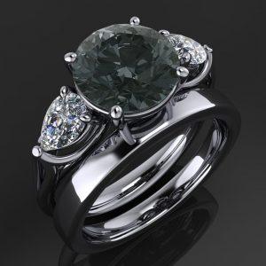 Crazy Rich Asians Round Engagement Ring